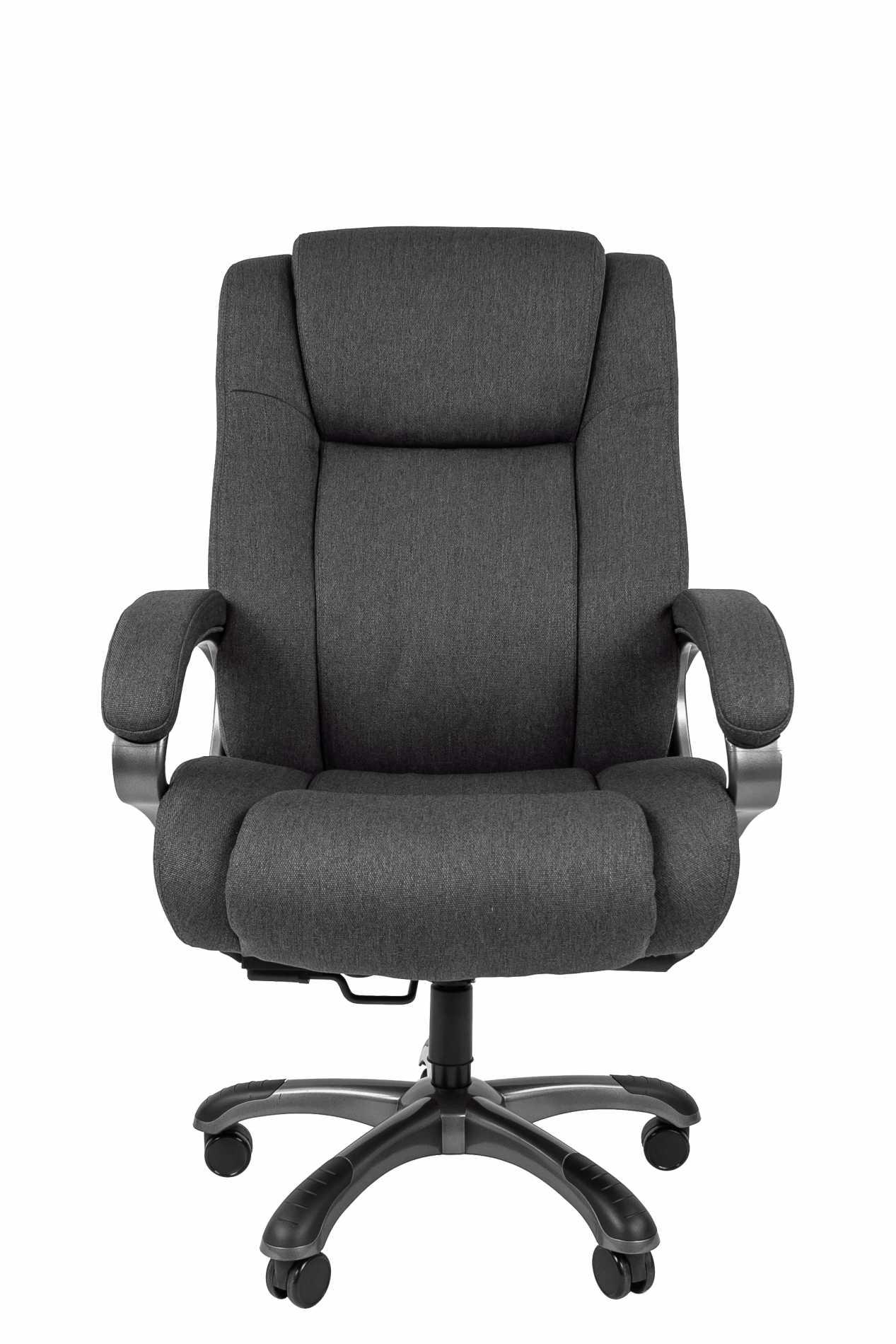 Кресло Chairman 410, серое, ткань